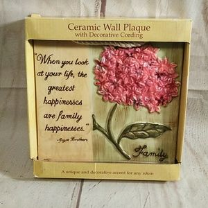 Ceramic wall Plaque (483)